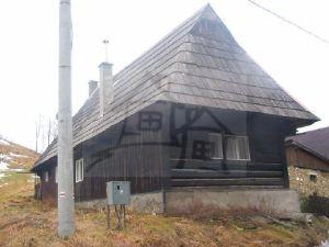 Romantická drevenica na Hutách