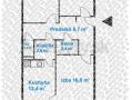 Pekný zrekonštruovaný 3-izbový pražský byt Buzulucká, 6m loggia