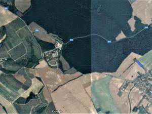 Exkluzívne PNORF –  developerský pozemok, 8 000 m2, šírka 35 m, Pastuchov okr. Hlohovec