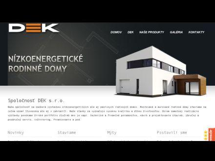 www.dek.sk