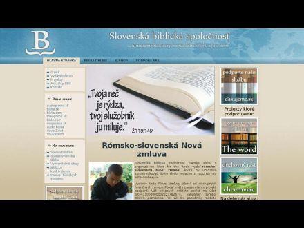 biblickaspolocnost.sk