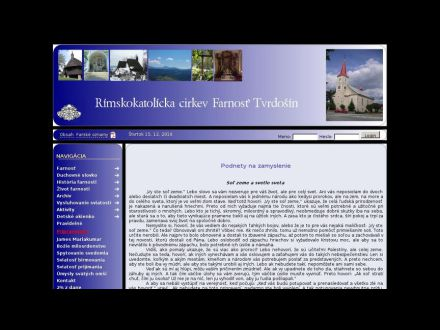 www.farnost-tvrdosin.sk