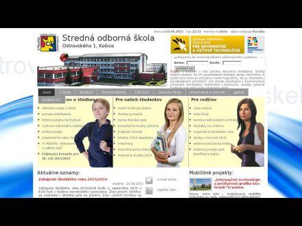 www.ostrovskeho.sk