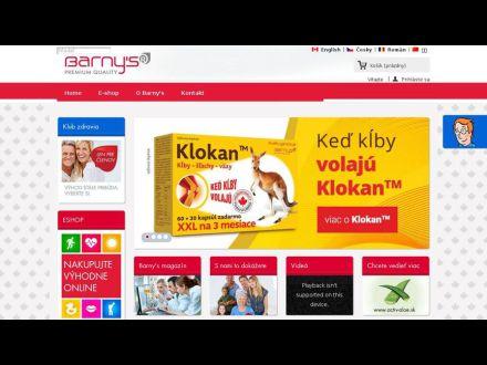 www.barnys.sk