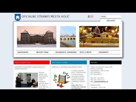 www.holic.sk