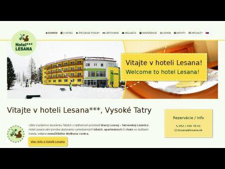 www.lesana.sk