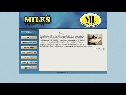 www.miles.sk