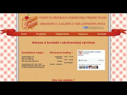 www.cukrarentuleja.sk