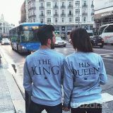 **Mikina The King&His Queen**