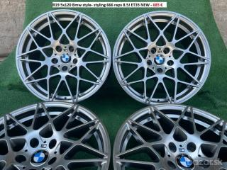 R19 5x120 Bmw style- styling 666 reps 8.5J ET35 /