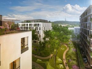 AHOJ PARK - štýlové bývanie na Sliacskej ulici Novostavba Bratislava III - Nové Mesto