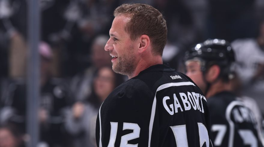 Marián Gáborík v drese Los Angeles Kings