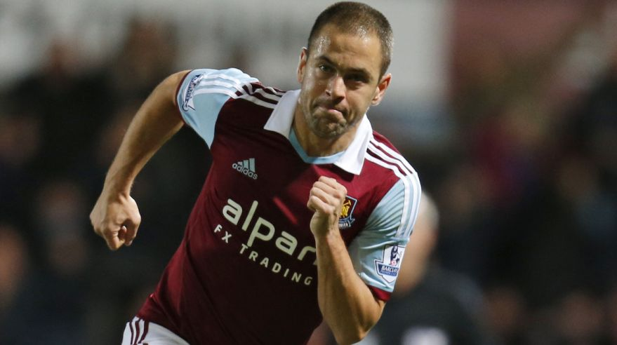 Joe Cole, West Ham United, beziii, Jan2016