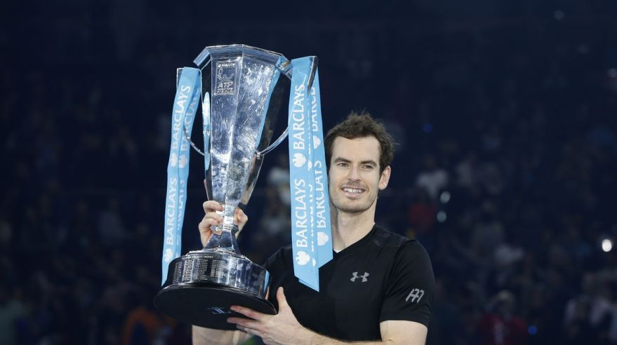 Andy Murray ATP Finals titul nov16 Reuters