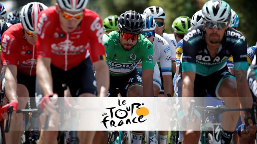 ONLINE: Tour de France - Peter Sagan.