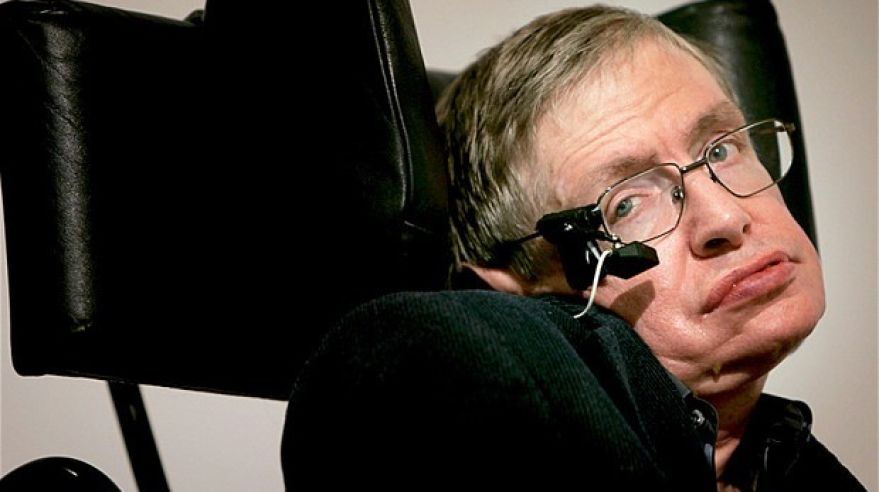 Stephen Hawking (zdroj: Telegraph.co.uk)