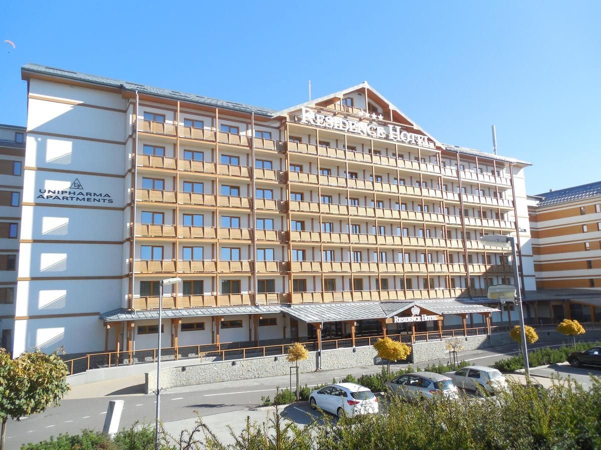 Hotel Residence s Unipharma apartments