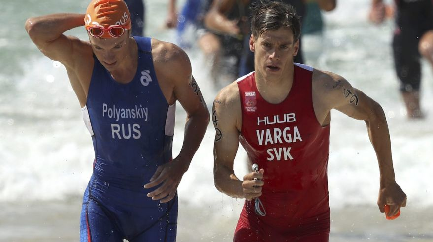 Triatlon, Richard Varga, Igor Polyanskiy, Rio 2016, oh, aug16, reuters