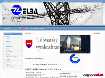 www.elba.sk/brany/