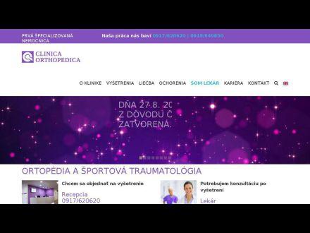 www.clinicaorthopedica.sk