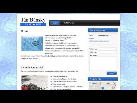 www.krtkovanie-bansky.sk/