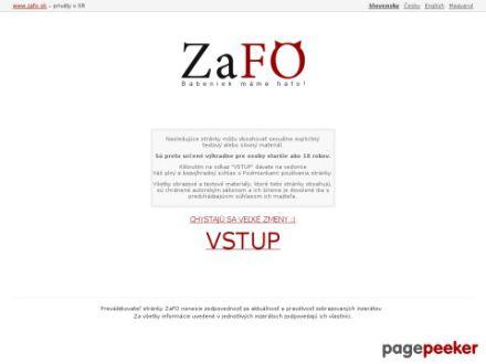 www.zafo.sk