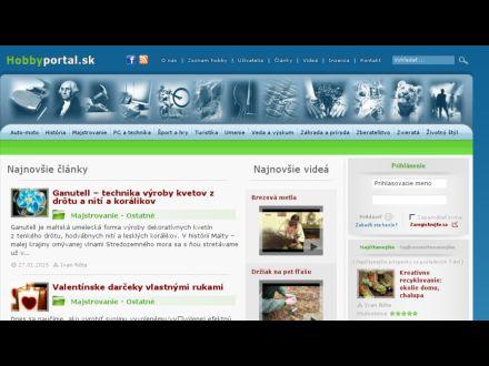 www.hobbyportal.sk