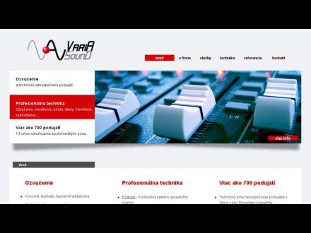 www.variasound.sk