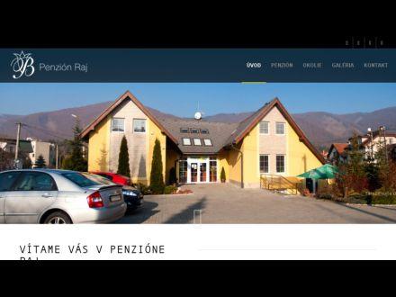 www.penzionraj.sk