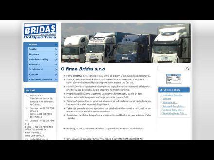 www.bridas.sk