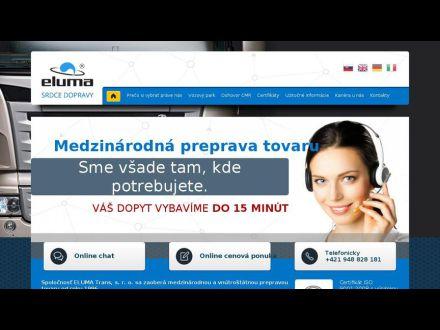 www.eluma.sk