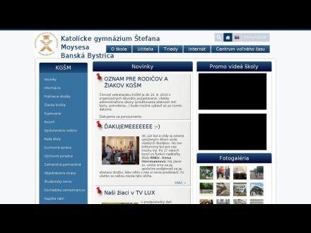 www.kgsm.edupage.sk