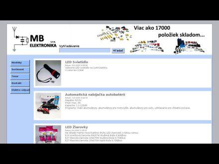 www.mb-elektronika.sk