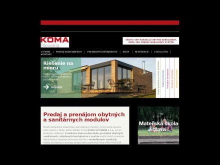 www.koma-slovakia.sk