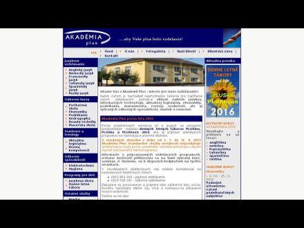 www.akademiaplus.sk