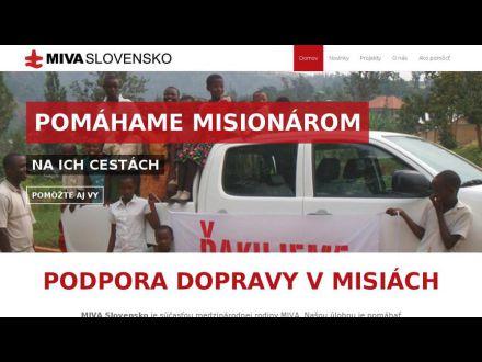 www.mivaslovensko.sk