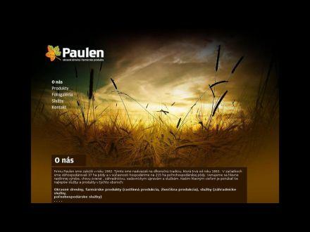 www.paulen.sk