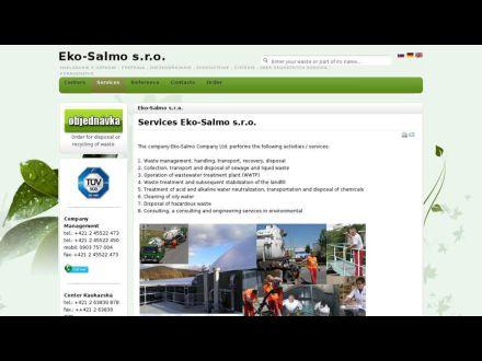 www.eko-salmo.sk