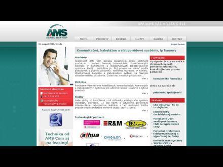 www.ams.sk