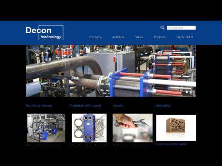 www.decon.sk