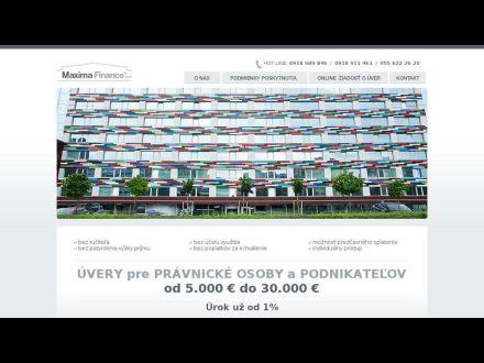 www.maximafinance.sk