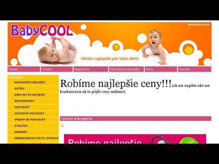 www.babycool.sk