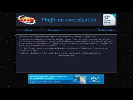 www.alsat.sk
