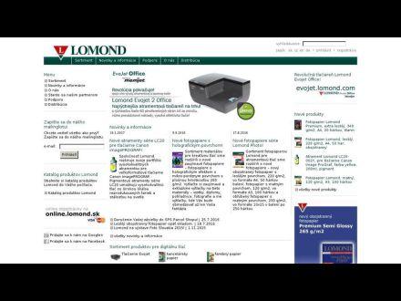 www.lomond.sk