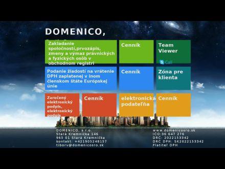 www.domenicosro.sk
