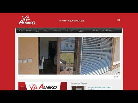 www.alniko.sk