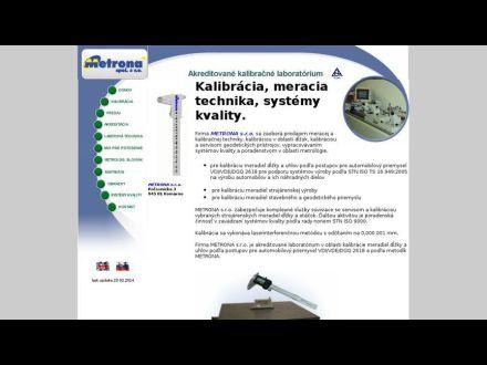 www.metrona.sk
