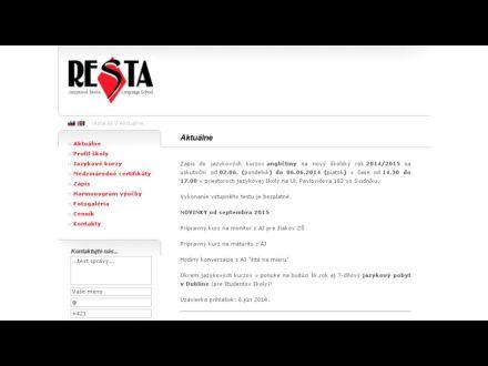 www.resta.sk