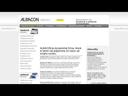 www.albacon.sk
