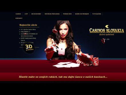 www.casinos.sk